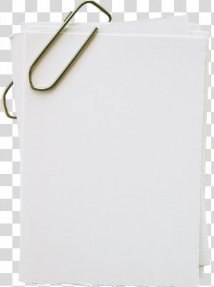 Paper Clip Post-it Note Standard Paper Size - Paper With Pin PNG