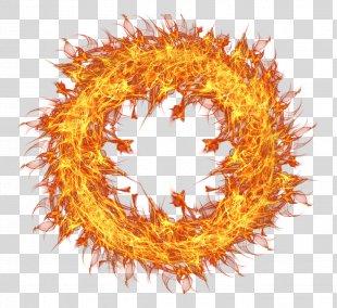 Fire Flame Clip Art - Fire Flame Circle Transparent PNG