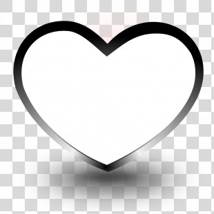 Black And White Heart Coloring Book Drawing Clip Art - Black And White Heart Images PNG