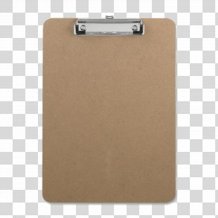 Paper Clip Clipboard Hardboard Project - Clipboard PNG