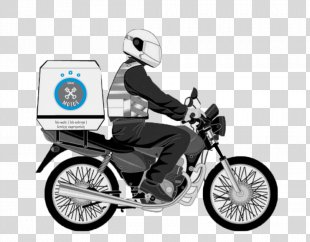 Motorcycle Courier Motorcycle Taxi Vehicle Sindimoto - Motorcycle PNG