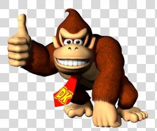 Donkey Kong Country Returns Donkey Kong Jr. Donkey Kong 64 - Donkey PNG