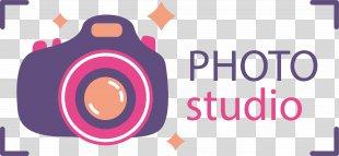 Photography Logo - Purple Photography Logo PNG