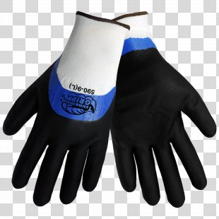 Cut-resistant Gloves Nitrile Rubber Personal Protective Equipment - Gloves PNG