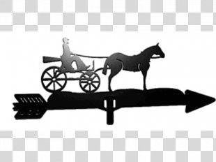 Horse And Buggy Horse Harnesses Chariot Carriage - Horse PNG