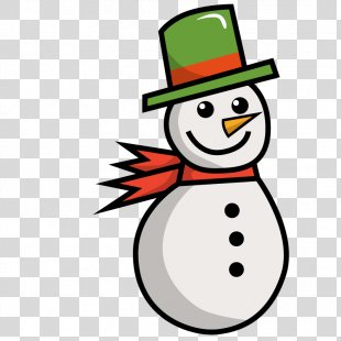 Snowman Winter Euclidean Vector - Vector Winter Snowman PNG