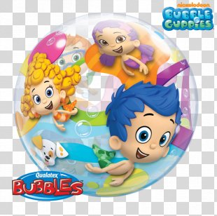 Birthday Balloons Birthday Balloons Gift Bubble Baby! - Bubble Guppies 1st Birthday PNG