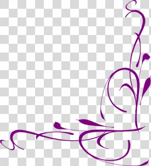 Bird Borders And Frames Flower Clip Art - Bridal Shower PNG