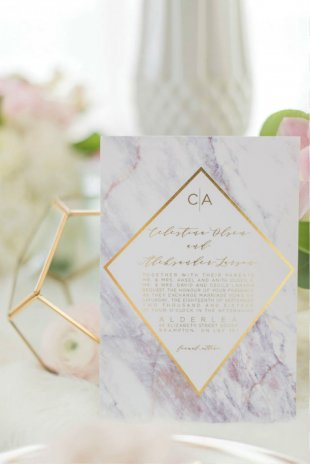 Wedding Invitation Paper Marble Greeting & Note Cards - Wedding Invitation PNG