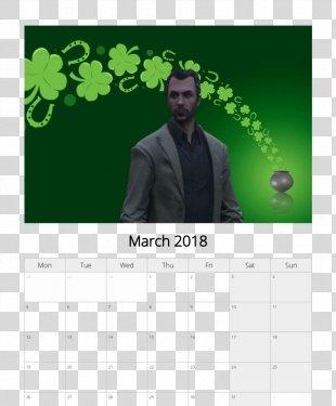Saint Patrick's Day 17 March Desktop Wallpaper Ireland - Saint Patrick's Day PNG