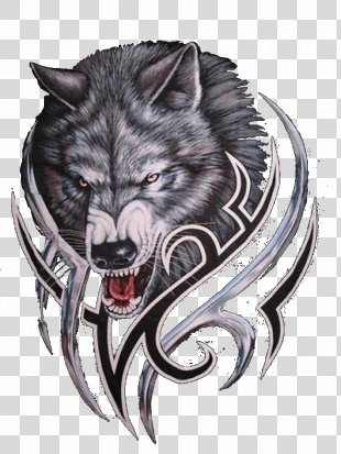 Gray Wolf Logo Werewolf Bitcoin - Wolf Logo PNG