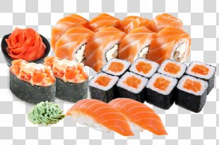 Makizushi Sushi Pizza California Roll - Sushi PNG