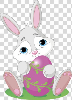 Easter Bunny Clip Art Easter Egg Vector Graphics - Easter PNG