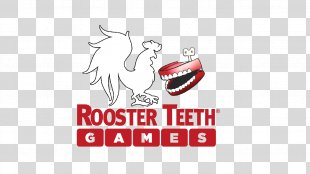 Rooster Teeth Games RTX Achievement Hunter Logo - Teeth PNG