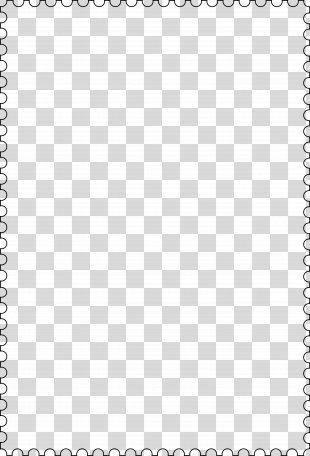Borders And Frames Drawing Clip Art - Stamp Frame PNG