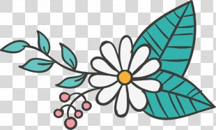 Wedding Invitation Clip Art - Hand-painted Wedding Elements PNG
