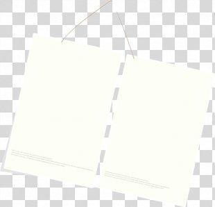 Paper White Textile Pattern - White Frame PNG