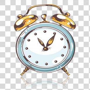 Alarm Clock Longcase Clock Illustration - Alarm Clock PNG
