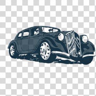 Vintage Car Design Poster - Vintage PNG