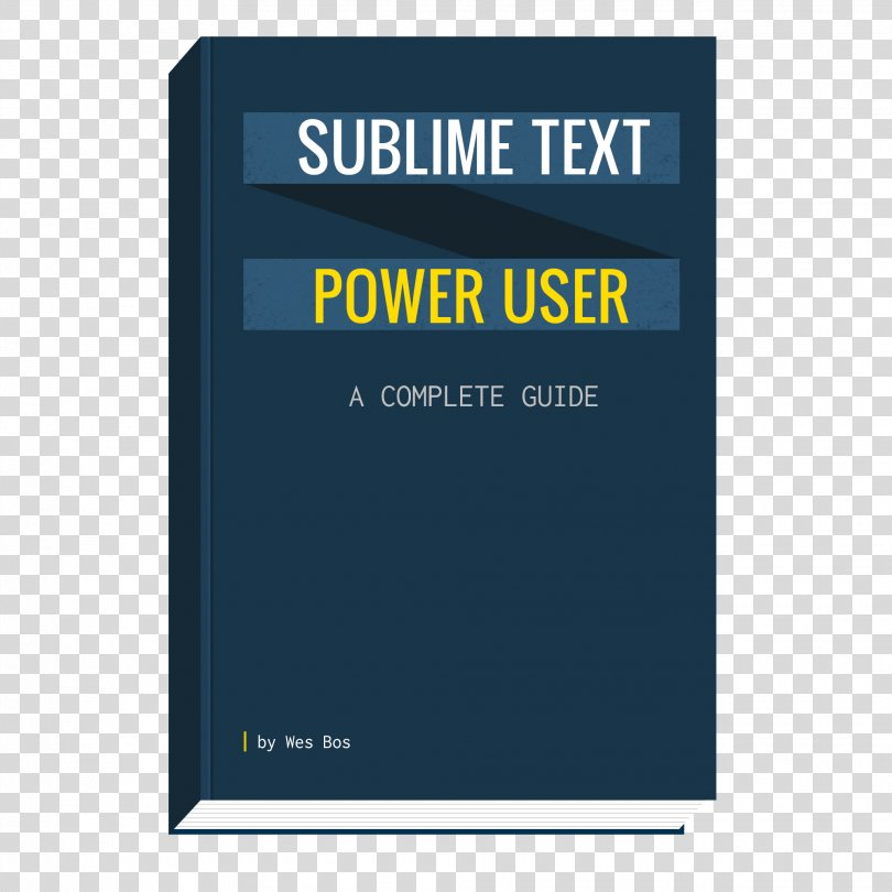 Power User Brand Book Product Design Sublime Text, Book PNG
