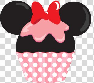 Cupcakes & Cookies Minnie Mouse Mickey Mouse Frosting & Icing - Minnie Mouse PNG