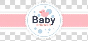Wedding Invitation Baby Shower Infant Pattern - Vector Baby Shower Card PNG
