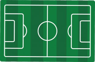Football Pitch Stadium Goal - Football Field Vector Material Picture PNG