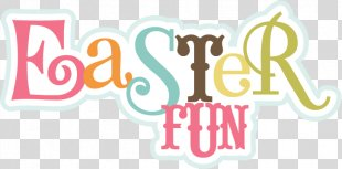 Scrapbooking Easter Egg Hunt Clip Art - Love My Family PNG