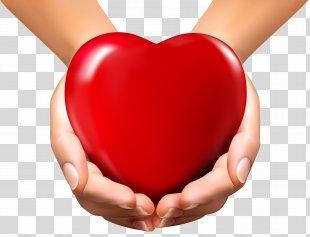 Heart Hand Clip Art - Human Heart PNG