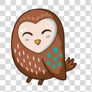 Owl Drawing Clip Art - Grey Owl PNG