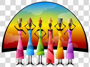 Africa Woman Clip Art - Africa PNG