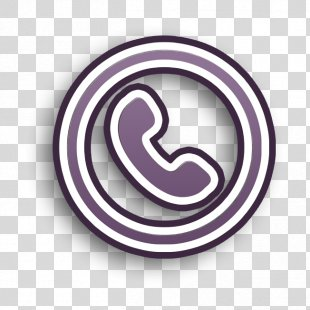 Call Icon Circle Icon Communication Icon - Spiral Logo PNG