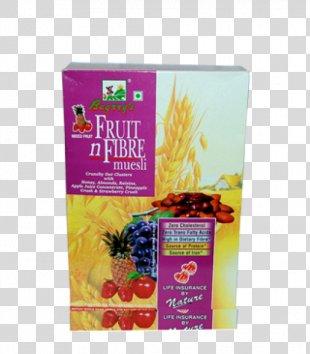 Breakfast Cereal Muesli Fruit 'n Fibre Vegetarian Cuisine Dietary Fiber - Juice PNG