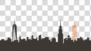New York City Skyline Clip Art - New York PNG
