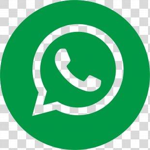 Flat Whatsapp Logo PNG