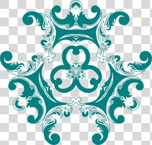 Vintage Clothing Floral Design Clip Art - Vintage PNG