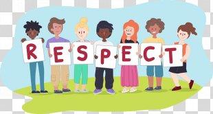 Respect Child Clip Art - Child PNG