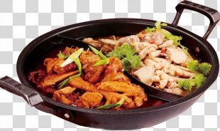 Hot Pot Asian Cuisine Food Crock - Duck Pot PNG