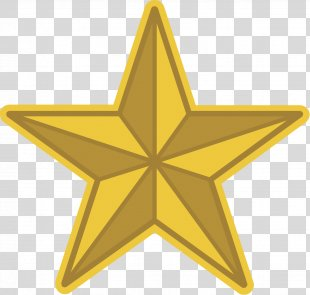 Gold Star Royalty-free Clip Art - Gold PNG