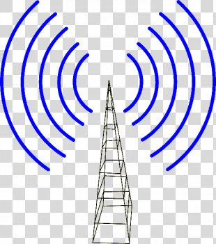 Clip Art Television Antenna Vector Graphics Openclipart - Antenna PNG
