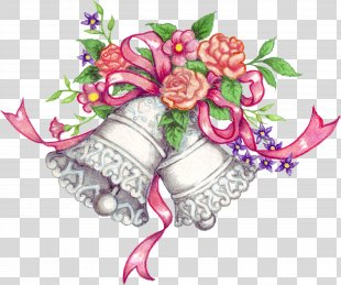 Wedding Invitation Marriage Clip Art - Bell Design Cliparts PNG