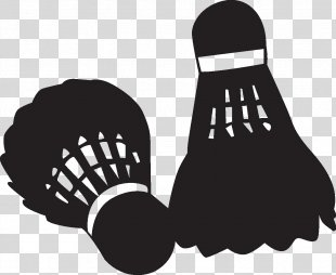 Badminton Player Silhouette Shadow Play Arena - Badminton PNG