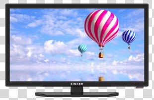 LED-backlit LCD High-definition Television Television Set Smart TV - Tv PNG