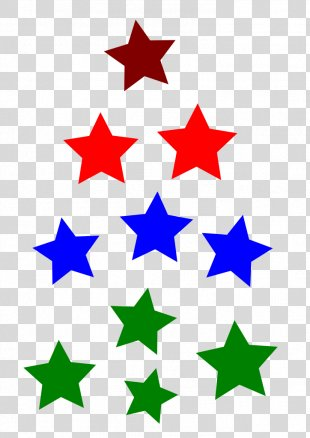 Gold Star Shape - Gold PNG