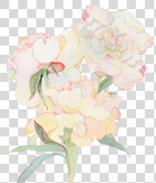Paper Watercolor Painting Flower Drawing - Painting PNG