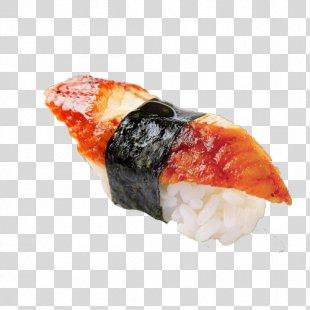 Sushi Unagi Makizushi Smoked Salmon Japanese Cuisine - Sushi PNG