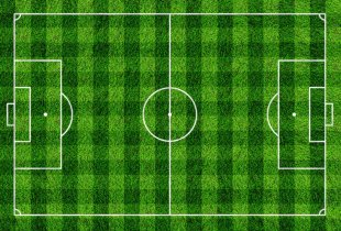 Football Pitch Photography Penalty Area - Football Field PNG