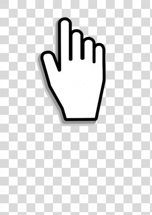 Computer Mouse Pointer Cursor Hand - Mouse Click Cliparts PNG