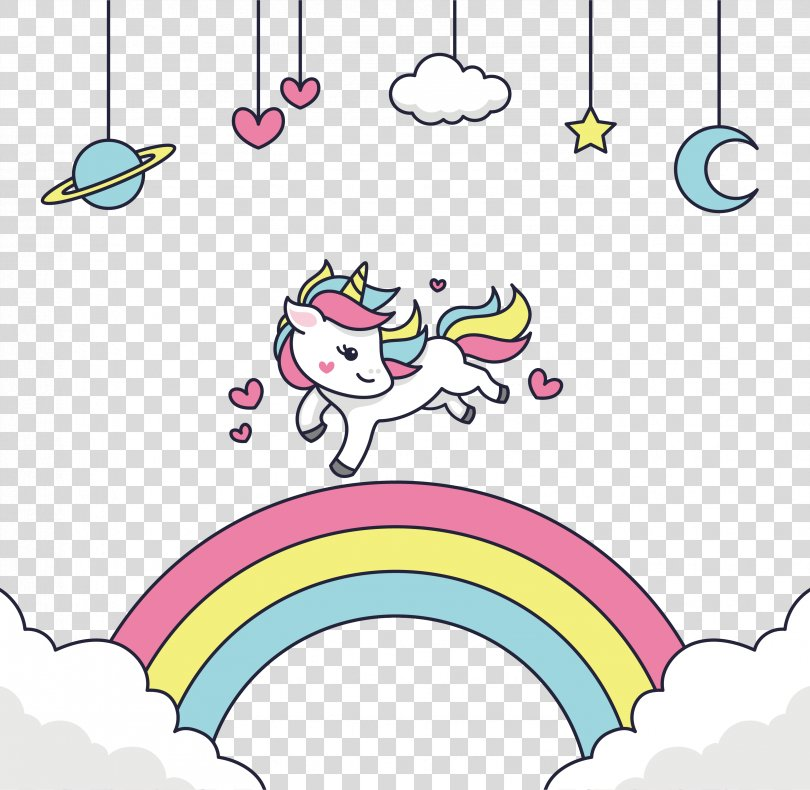 Adobe Illustrator Clip Art, Happy To Run The Unicorn PNG