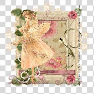 Flower Floral Design La Sylphide Picture Frames - Delicate Lace PNG